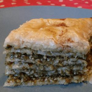 Nut Free Baklava