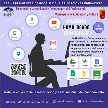 LAS HERRAMIENTAS DE GOOGLE Y SUS APLICACIONES EDUCATIVAS
