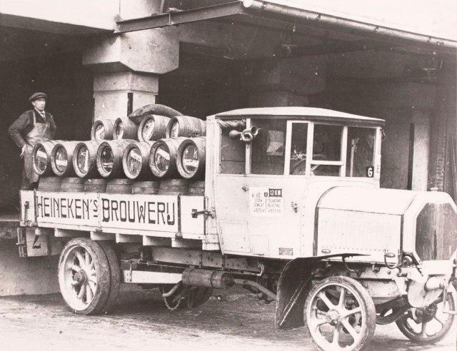 Heineken's first truck
