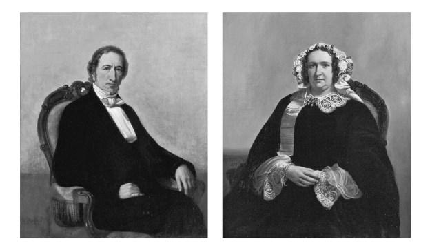 Portraits of Cornelis Heineken and Anna Geertruida van der Pauw-Heineken