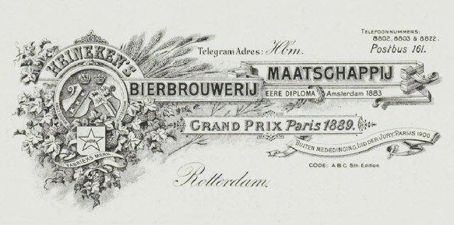 Original Letterhead used in the begining of the century