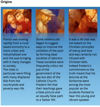 Resources for the Feast of Frederic Ozanam