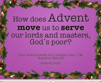 Superior General  Advent Powerpoint