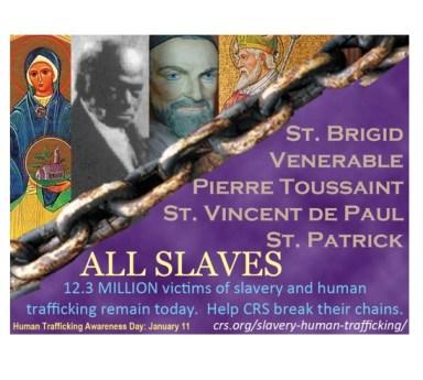 Saints who were slaves