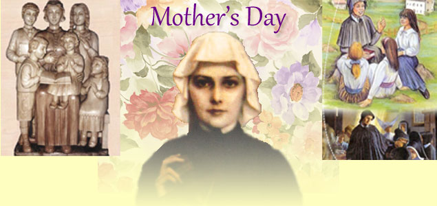 Mother's Day: St. Elizabeth Ann Seton