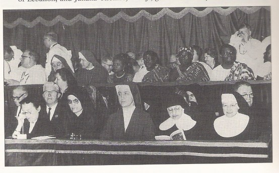 Who was that Daughter of Charity at Vatican II?