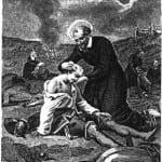 Vincent de Paul cares for war wounded_jpg