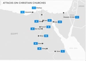 statistics of burnt churches published in 16-8-2013
