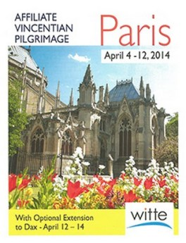 Travel to Paris with the Vincentian Family
