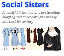 Five most followed Nuns on Twitter