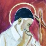 Vincent praying