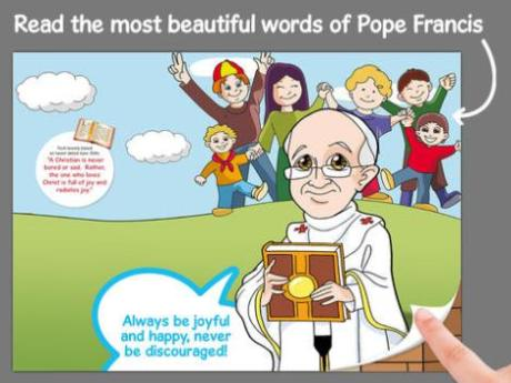 Childrens App – Pope Francis Comics