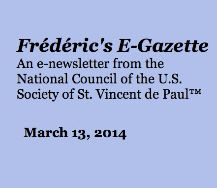Frederic's E-Gazette March 2014