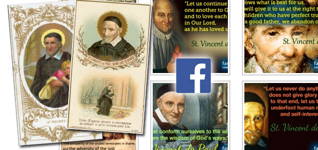 Vincentian prayer cards – Then… and Now
