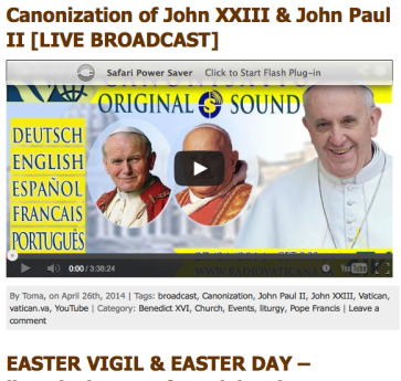 View canonization on CM New England