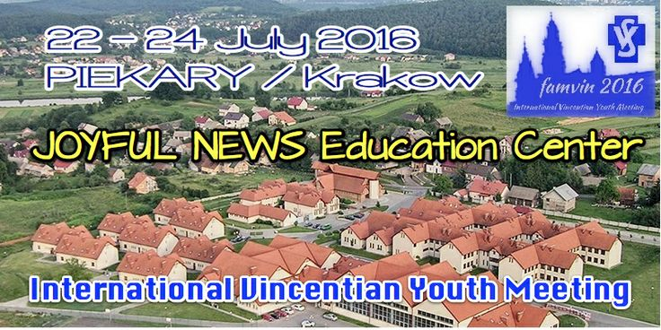 Venue – Vincentian Youth Meeting 2016