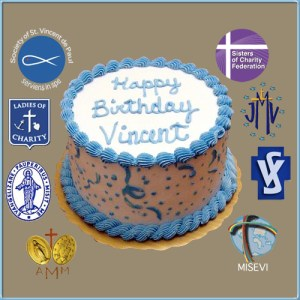 Happy Birthday Vincent Cake