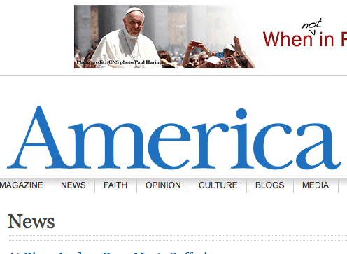 """Pope to Israeli reporter """"How Can I Help?"""""""