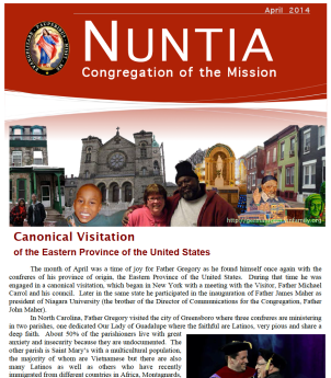 Latest issue of Nuntia online