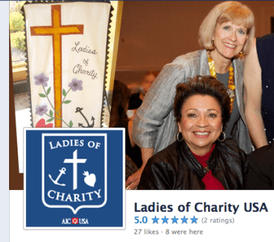 The Ladies of Charity USA now on Facebook