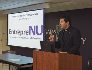 Niagara U students challenged to solve poverty