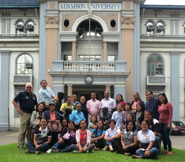 Delegates at Adamson