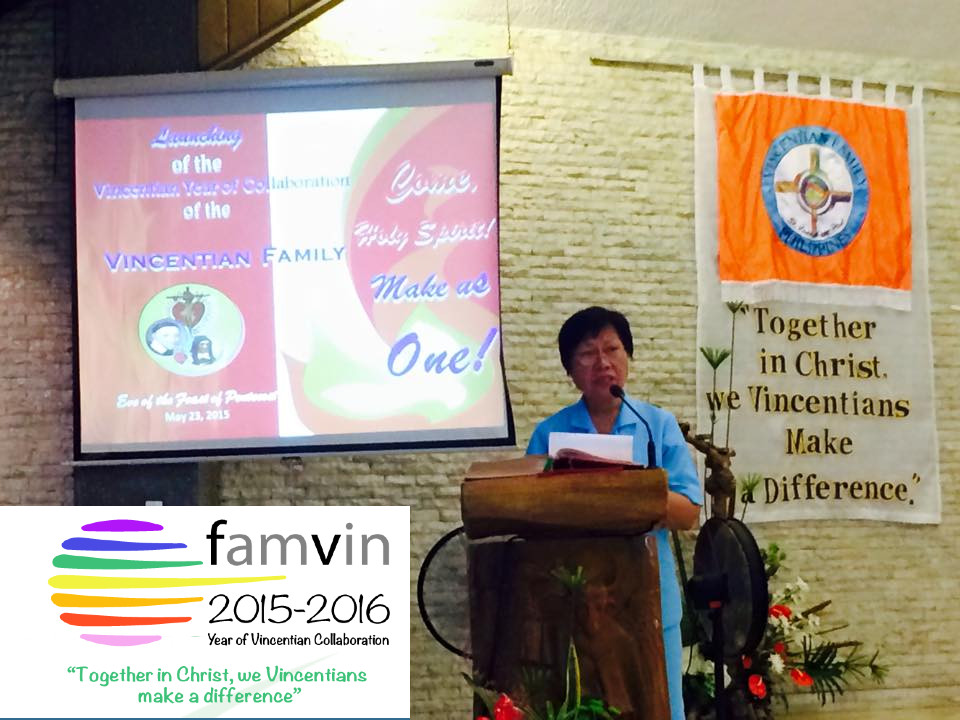 "Celebrate: Vincentian Family Philippines launches the ""Year of Collaboration"""