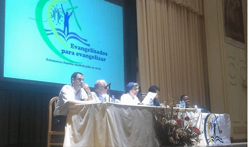 Setting the table of Vincentian Marian Youth Assembly