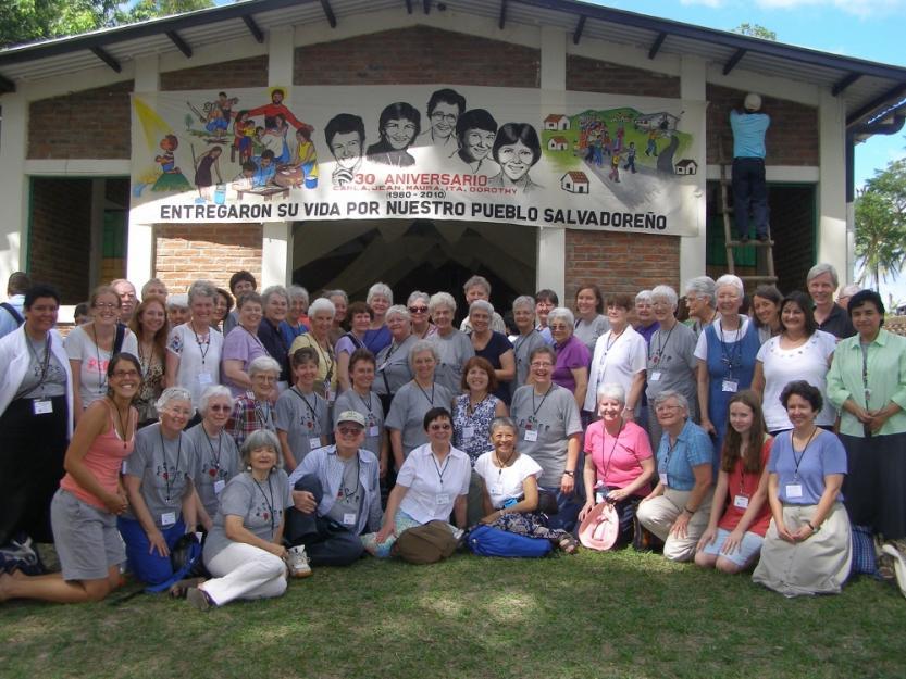 Sr. Louise Lears, SC visits El Salvador martyr site