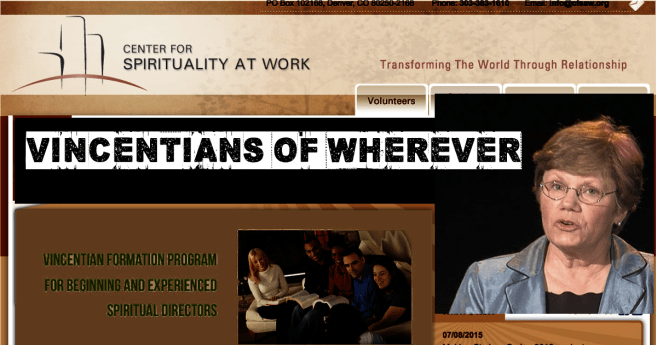 Vincentians of Wherever: Vie Thorgren at Work
