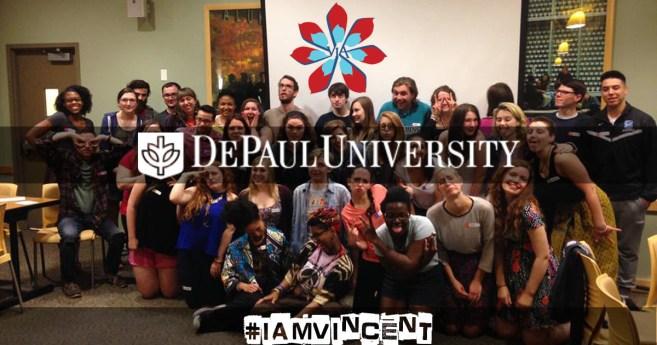 Vincentians in Action #IamVincent @DePaul