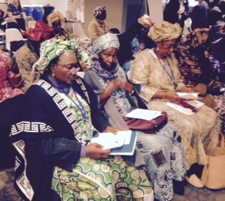 Women from Mali attending CSW