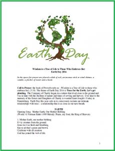 Earth Day 2016 Prayer Service PDF 2