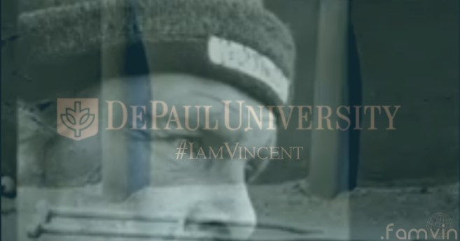 All Booked Up, but #IamVincent @DePaulMission