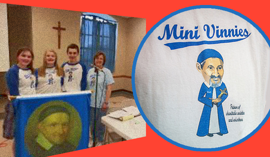 Mini Vinnies Fulfill Mission Of St. Vincent de Paul To Serve