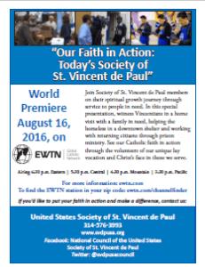 SVDP EWTN flyer