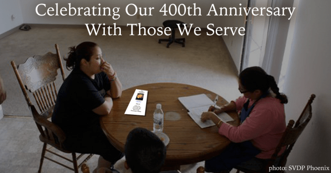 Celebrating Our 400th Anniversary With Those We Serve