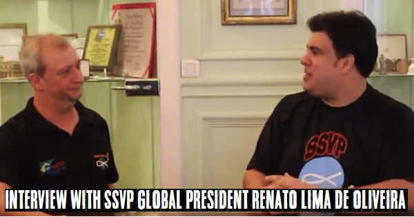Interview With SSVP Global President Renato Lima de Oliveira