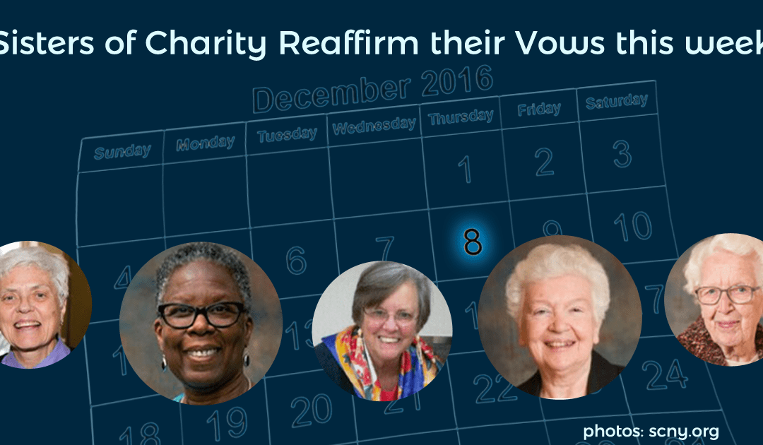 Sisters of Charity Renew Their Vows This Week