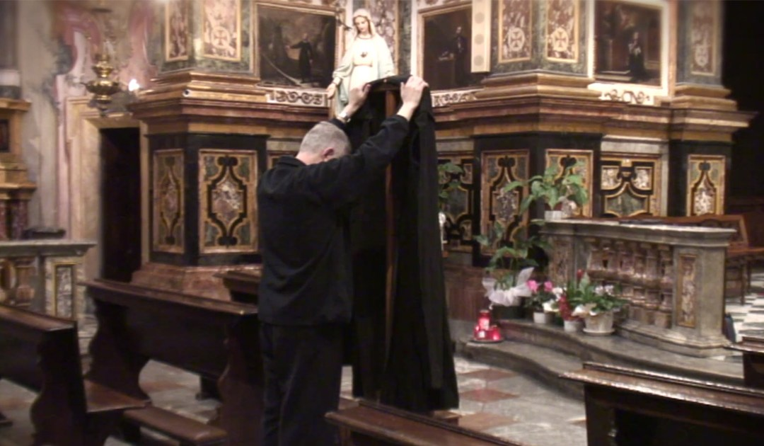 Wrap Yourself with Vincent's Cape • A Video from Fr. Tomaz Mavrič