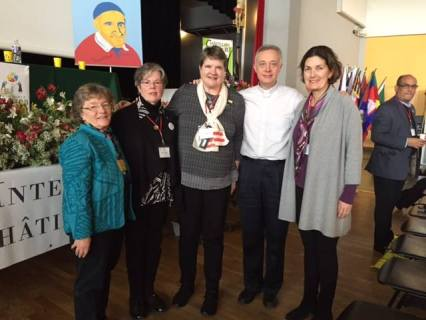 Day 1 International Assembly 400#AIC400: Ladies of Charity with Fr. Tomaž Mavrič, C.M. Superior General