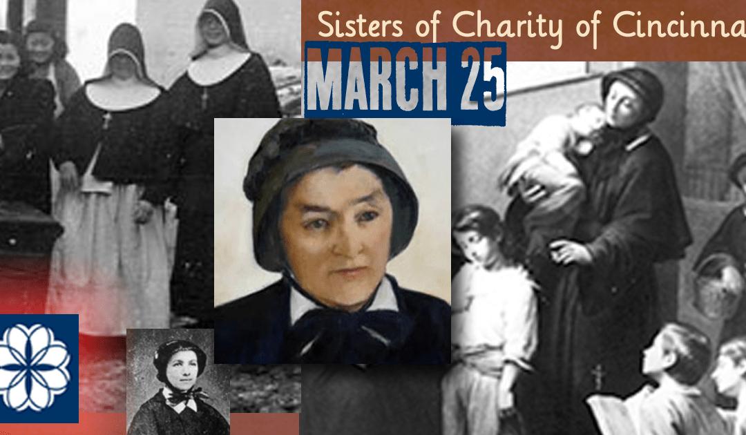 March 25: Establishment of the Sisters of Charity of Cincinnati