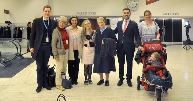The Vincentian Family at the UN 34th Session of the Human Rights Council