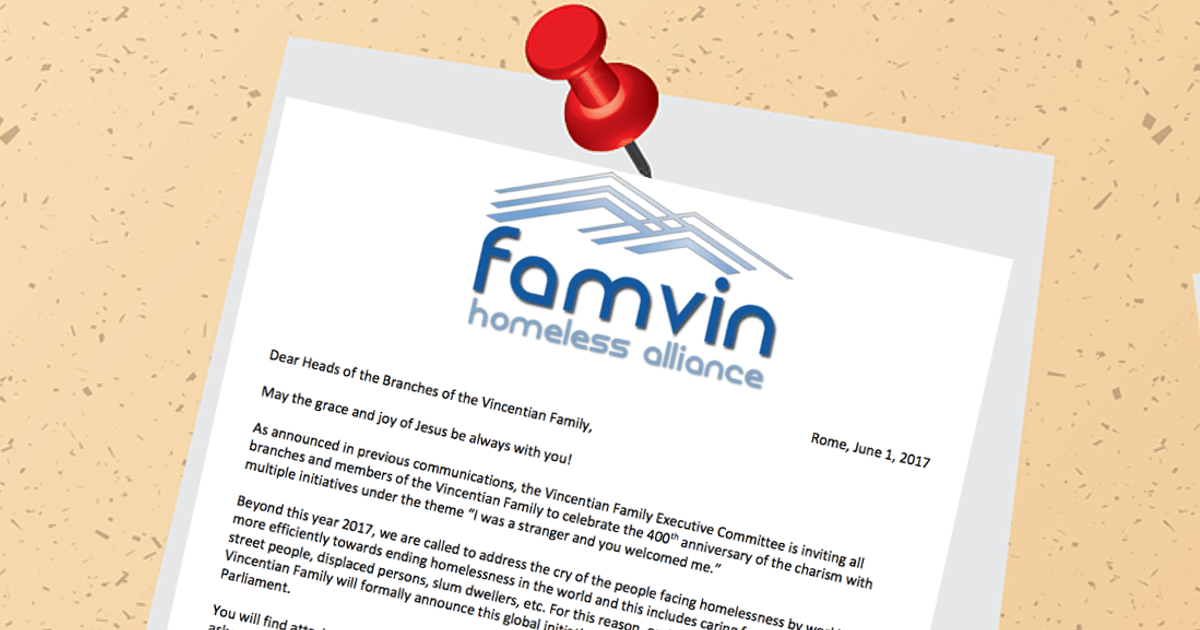Bulletin: FamVin Homeless Alliance