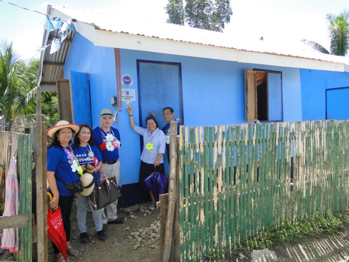45 houses in Bogo, Cebu Philipines for Haiyan Typhoon Victims 2014