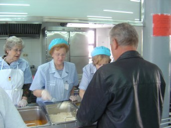 Soup Kitchen in Madrid Spain 2016