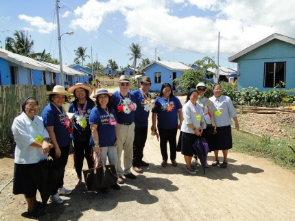 Transit Houses Project for Haiyan Typhoon Victims in Cebu Philipines 2014