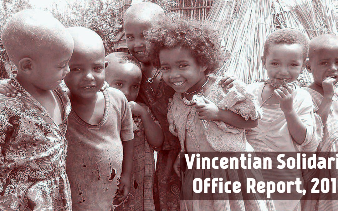 Vincentian Solidarity Office Annual Report, 2016