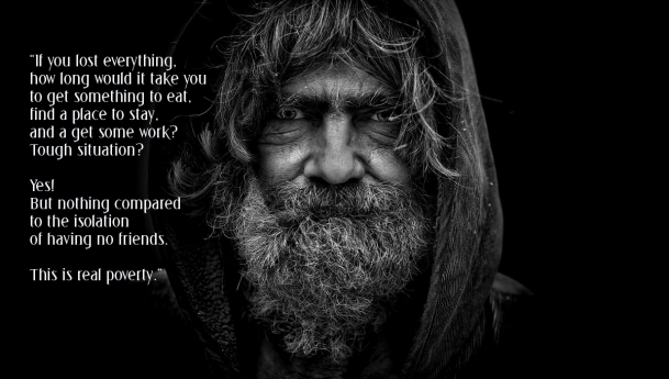 Systemic change – encountering homeless people