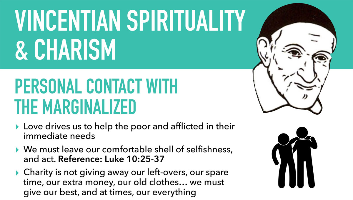 Vincentian Charism: Infographic